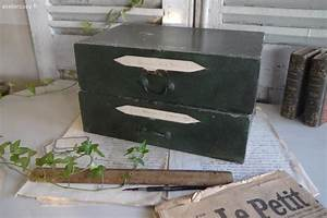 Boite Archive Deco : ancienne boite d 39 archive pour cartonnier brocante de charme atelier brocante de ~ Teatrodelosmanantiales.com Idées de Décoration