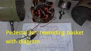 Pedestal Fan Rewinding Basket With Diagram   U09aa U09cd U09b0 U09bf U09a1 U09bf U09b8 U09cd U099f U09be U09b2
