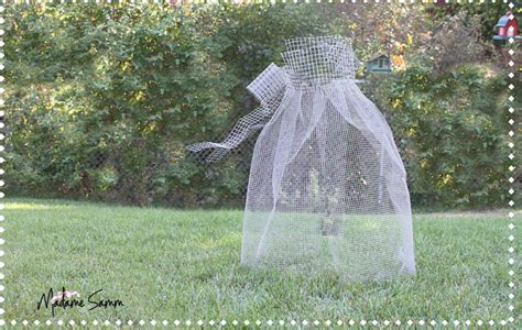 chickenwire ghost be different act normal chicken wire ghost tutorial