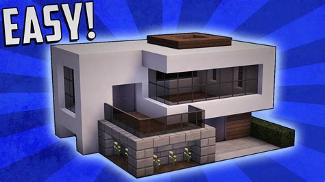 Modernes Haus Minecraft Klein by Minecraft How To Build A Small Modern House Tutorial 16