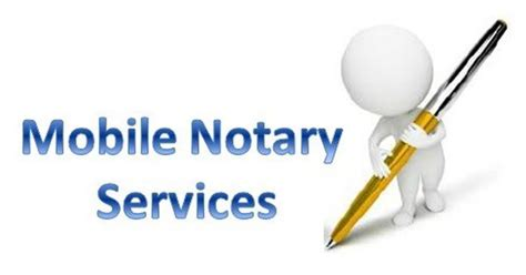 mobile notary services notary pinterest