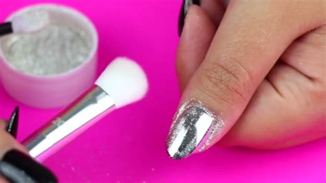 Easy Steps To Get Mirror Chrome Nails
