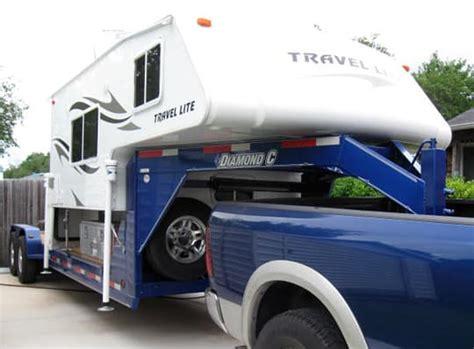 truck camper   gooseneck truck camper magazine