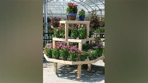 benches tables  retail displays garden center magazine