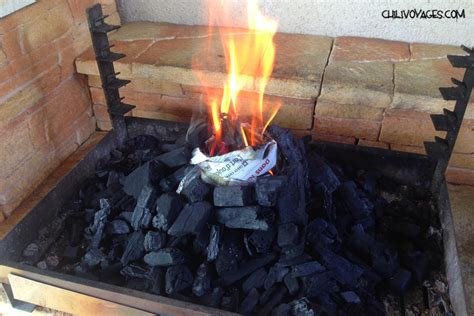 comment allumer un barbecue facilement en vid 233 o chili voyages