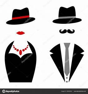 Sigle Homme Femme : siluetas de hombres con sombrero s mbolos se ora ~ Melissatoandfro.com Idées de Décoration