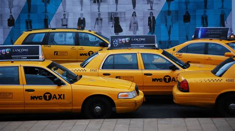Uber And Lyft Cars Now Outnumber Yellow Cabs In Nyc 4 To 1