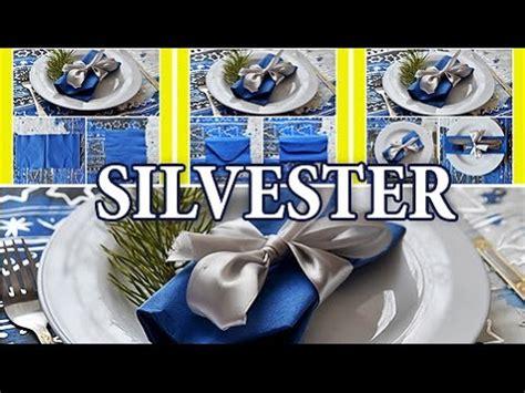 Silvester Servietten Falten servietten falten silvester