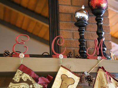 monogram stocking holders craftcutscom