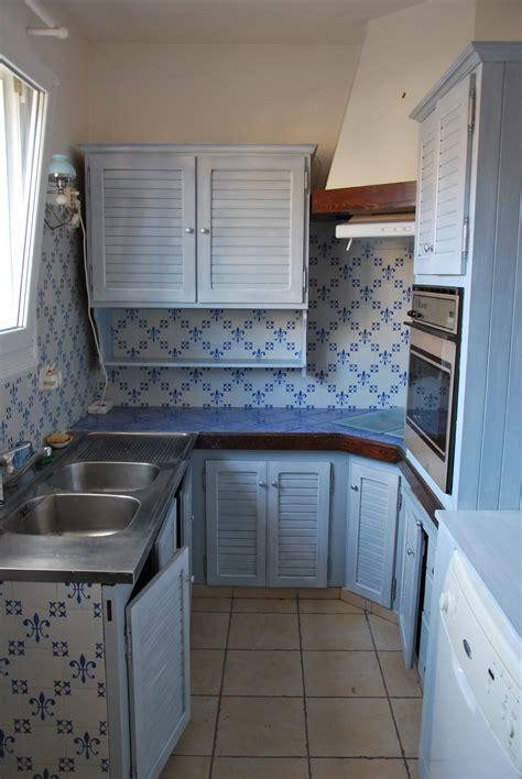 cuisine couleur gris bleu cuisine moderne bleu