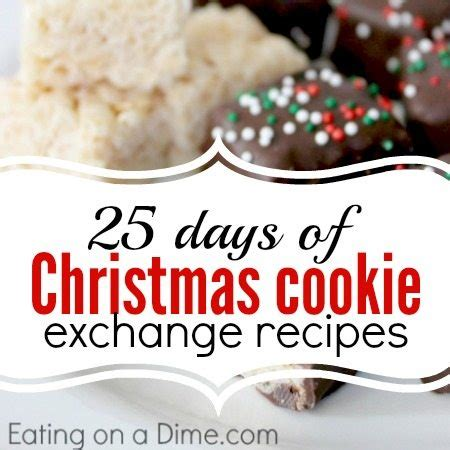 days  christmas cookie exchange recipes eating