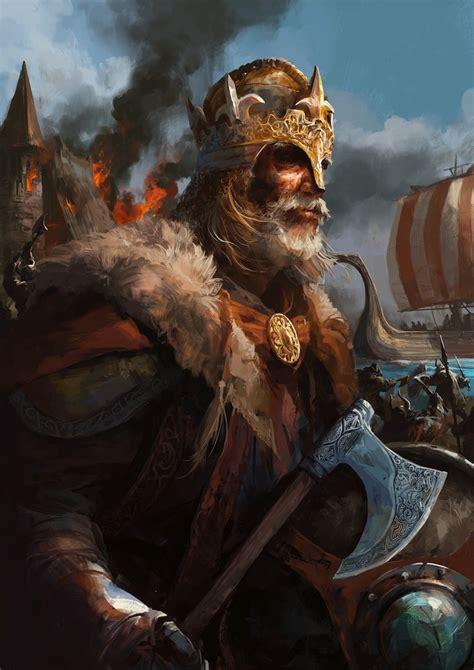 Warrior paintings