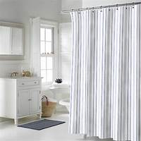 striped shower curtains Nautica Palmetto Bay Stripe Shower Curtain from Beddingstyle.com