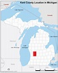 Free and open source location map of kent county michigan ...
