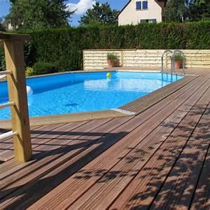 Piscine Bois Ubbink : piscine bois octogonale allong e 400x610cm ocea toute ~ Mglfilm.com Idées de Décoration