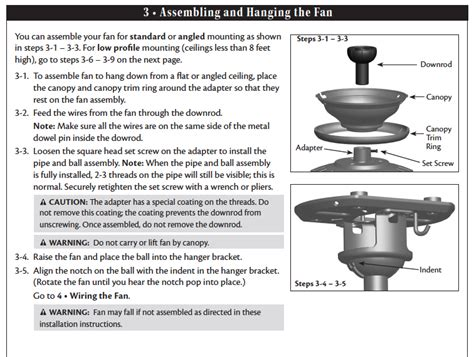 Hton Bay Ceiling Fan Wall Manual by We Just Bought A Hton Bay Larson Ceiling Fan Sku 337