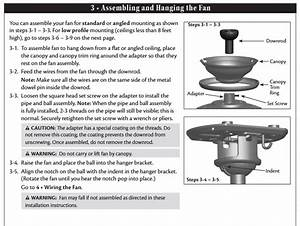 We Just Bought A Hampton Bay Larson Ceiling Fan Sku 337