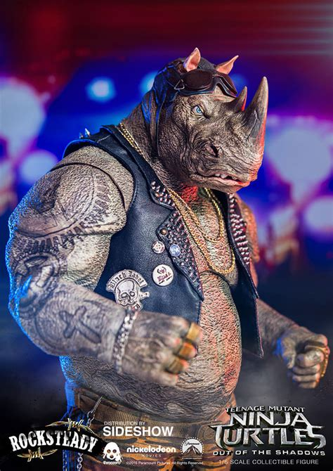 TMNT Rocksteady Sixth Scale Figure by Threezero | Sideshow ...
