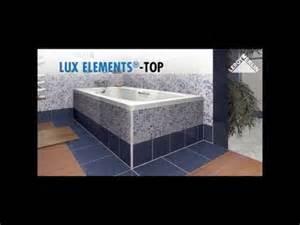 Carrelage Baignoire Joint by Monter Un Tablier De Baignoire Lux Elements Youtube
