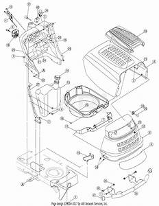 Mtd 13ap625k730  2007  Parts Diagram For Hood Assembly