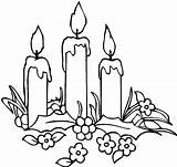 Candle Coloring Christmas Pages Candles Decorating Printable Print 73kb 569px Drawings sketch template