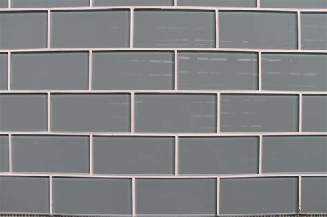 chimney smoke gray  glass subway tiles rocky point