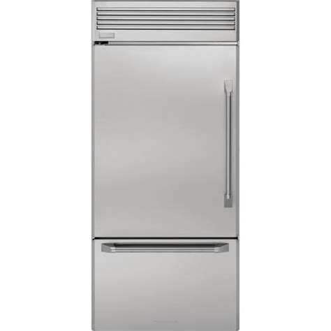ge monogram zicsnhlh monogram professional built  bottom freezer refrigerator sears