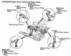 I Need Directions On How To Replace All Engine Mounts On A