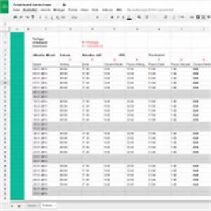 Stichprobengröße Berechnen Excel : kostenlose excelvorlagen zum download papershift ~ Themetempest.com Abrechnung