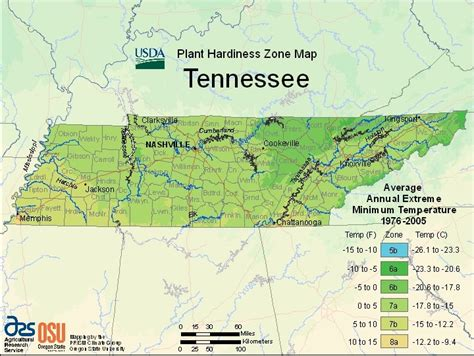 tennessee map zones zone hardiness usda planting growing plant tn climate state know 7a farmers order gardeningknowhow enlarge
