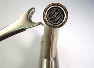 Aerator wrench explanation for How to remove aerator from bathroom faucet