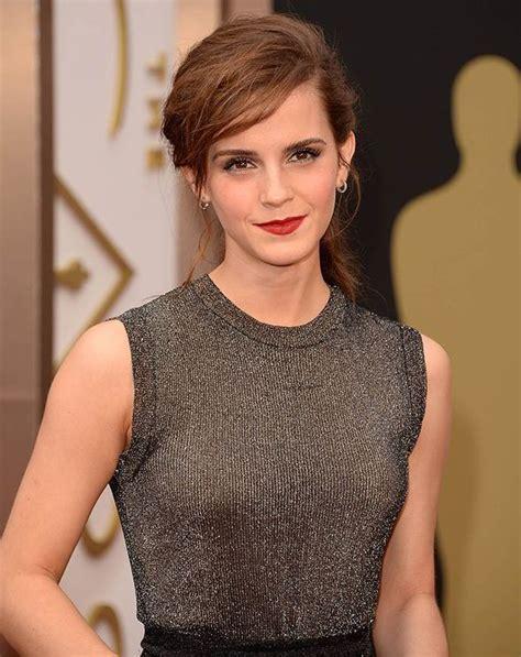 Oscars Emma Watson Anne Hathaway Look Chic