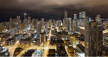 Chicago Cityscape Cities Sustainable Communities Animated Smart