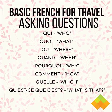 46 Basic French Words and Phrases for Travel - Wyzant Blog