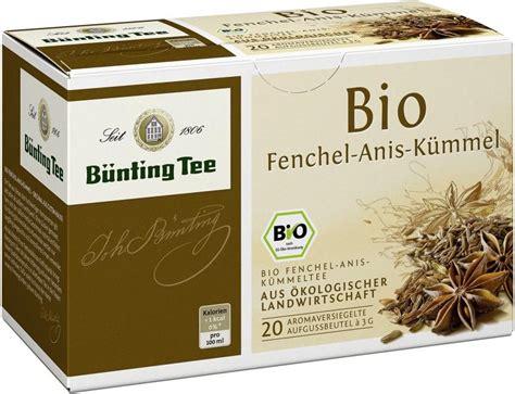 buenting bio fenchel anis kuemmel  kaufen bei mytimede