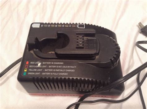 snap on battery charger ctc420 black slide post