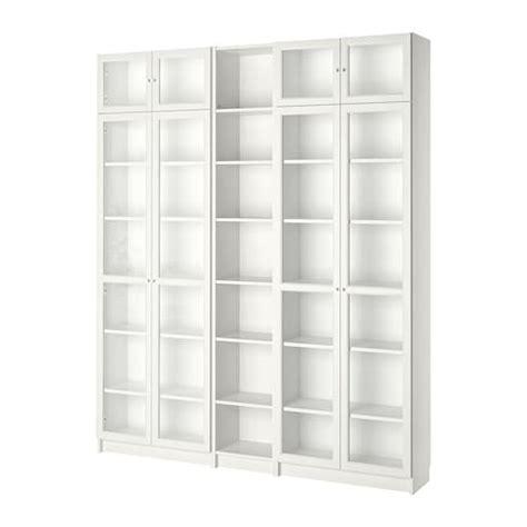 librerie ikea billy billy oxberg libreria bianco 200x237x28 cm ikea