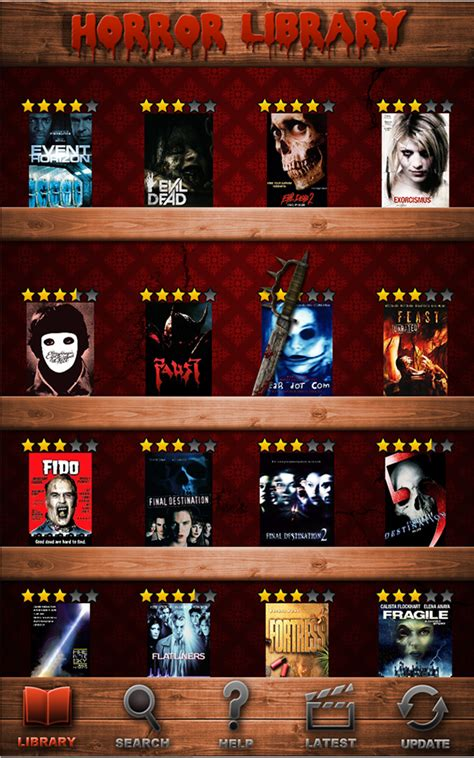 Horror Movies the Best Database App