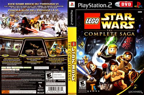Lego Star Wars The Complete Saga Playstation 2 Ps2 Dvd