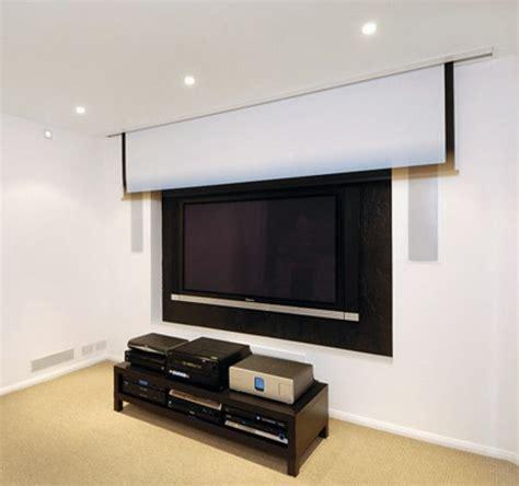 beamer scherm verzonken  plafond simone inspiration