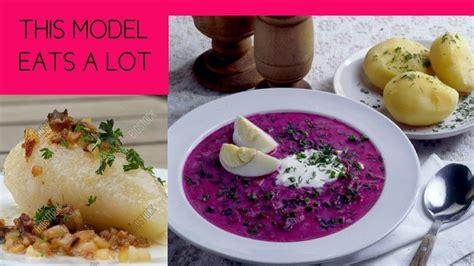 traditional lithuanian food  inga budriene foodvlogs