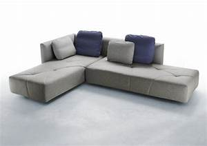 un canape design moderne dans le salon 20 idees With canapé design moderne