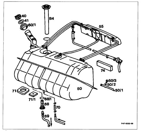 1985 Mercede Fuel System Diagram by How To Remove The Fuel Tank From A 1985 Sl Mercedes
