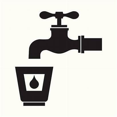 Drinking Water Fountain Icon Pictogram Clip Drinkwater