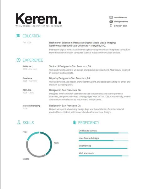 Amazing Resumes 2015 by 50 Awesome Resume Templates 2016