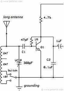 Three Transistor Radio Circuit Diagram