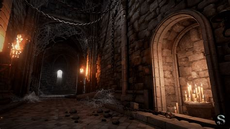 Best Dungeon Dungeon By Silvertm In Environments Ue4 Marketplace