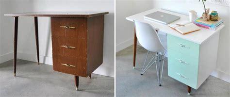 vieux bureau inspiration déco pour redonner vie à un vieux meuble