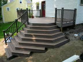 composite deck composite deck stairs
