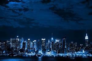 blue, city, night, sky - image #307136 on Favim.com